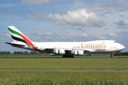 Boeing 747-4HA/F/ER/SCD (OO-THC)