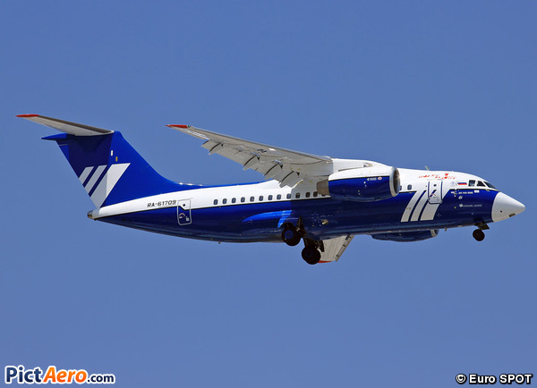 Antonov An-148-100 (Polet Flight)