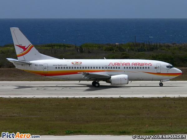 Boeing 737-36N (Surinam Airways)