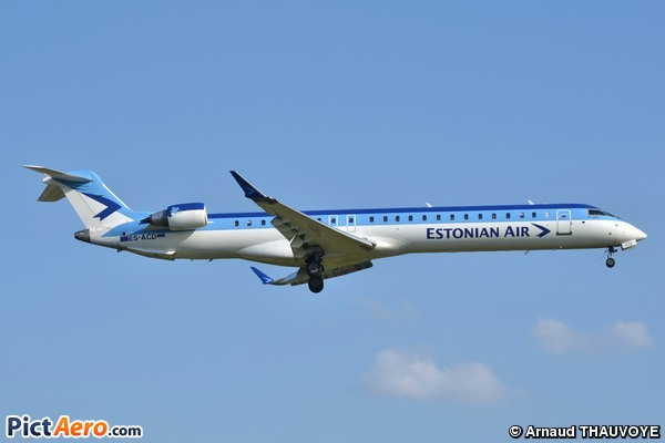Bombardier CRJ-900ER (Estonian Air)