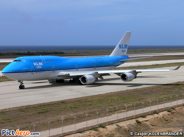 Boeing 747-406 (KLM Asia)