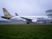 Airbus A320-214 (5A-LAJ)