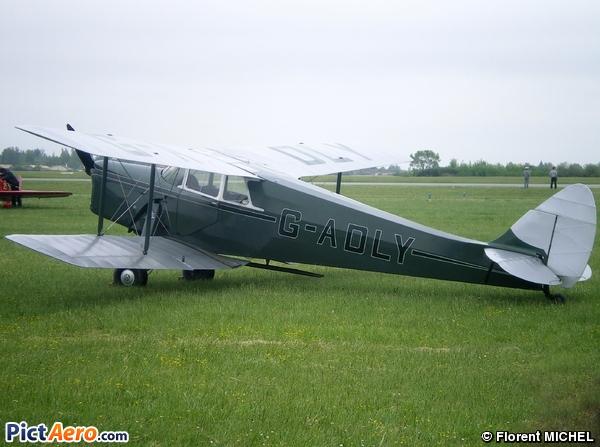 De Havilland DH-87B Hornet Moth (Private)