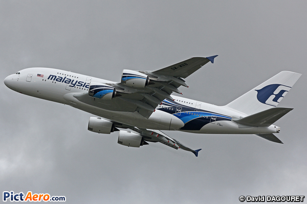 A380 Malaysia Airlines