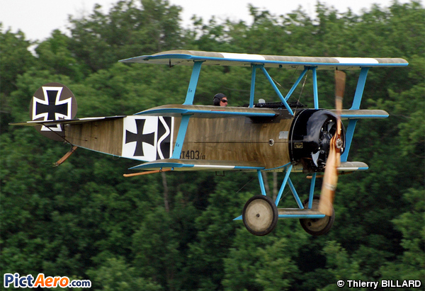 Fokker DR-1 Triplane (Replica) (John Graham Day)