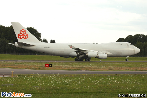 Boeing 747-4R7F/SCD (Silk Way Airlines)