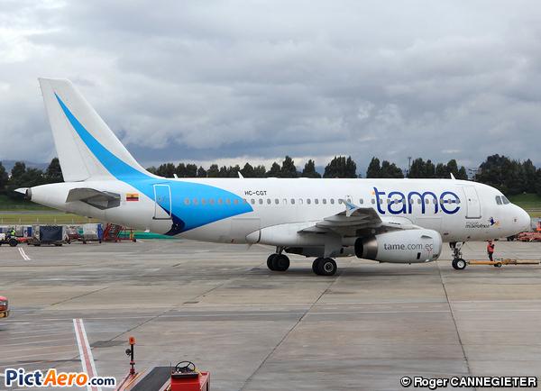Airbus A319-132 (TAME Ecuador)