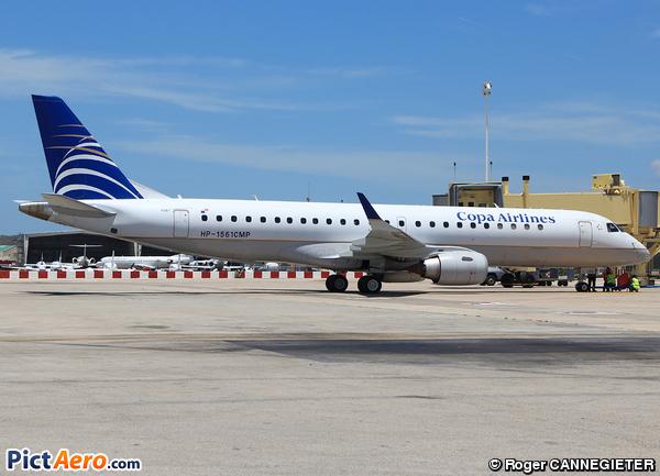 Embraer ERJ-190-100IGW 190AR (Copa Airlines)