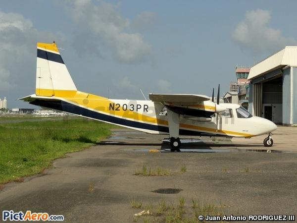 Britten-Norman BN-2B-26 Islander (Air Flamenco)