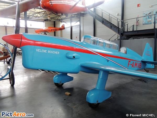 Caudron C-431 Rafale (Groupement pour la Préservation du Patrimoine Aéronautique / GPPA)