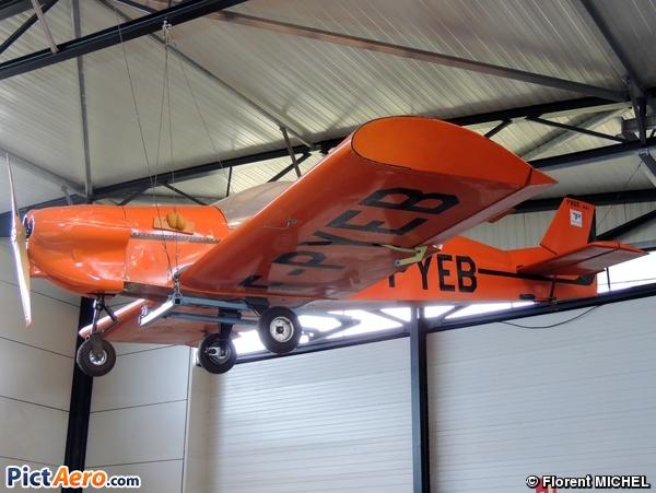 Pottier P-80S (Groupement pour la Préservation du Patrimoine Aéronautique / GPPA)
