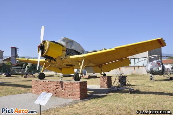 Zlin Z-37A-3 (Musée de l'aviation de Krumovo/Plovdiv)