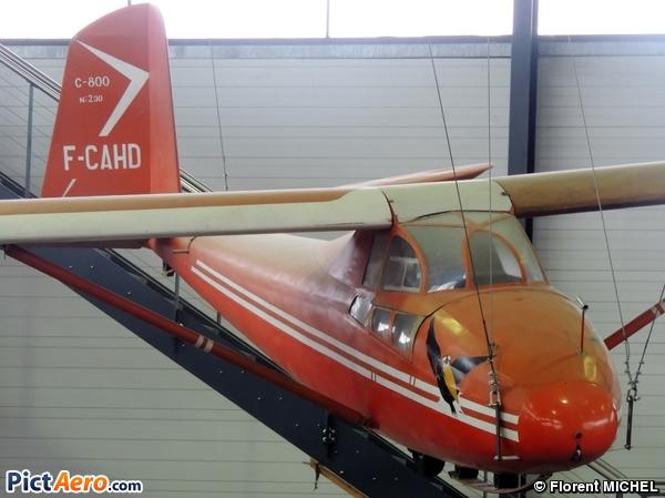 Caudron C-800 (Musée Régional de l'Air)