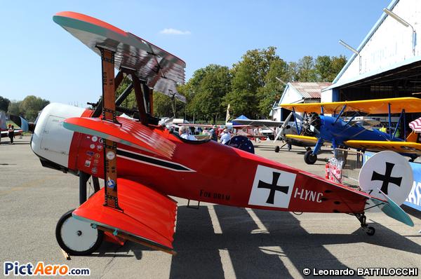 Fokker DR-1 Triplane (Replica) (Giancarlo Zanardo)