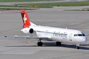 Fokker F-28-100 Fellowship (HB-JVI)