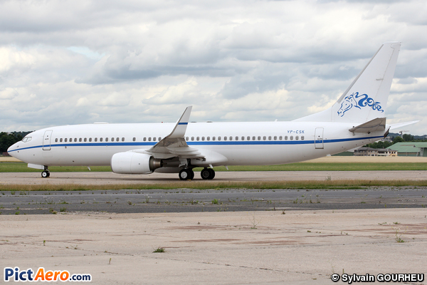 Boeing 737-8GG/BBJ2 (NAFO Aviation)