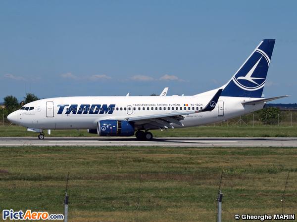 Boeing 737-78J/WL (Tarom - Romanian Air Transport)