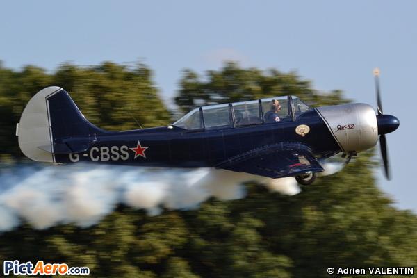 Yakovlev Yak-52 (VERHELLEN Etienne)