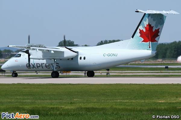 DHC-8-102 (JAZZ Aviation LP)