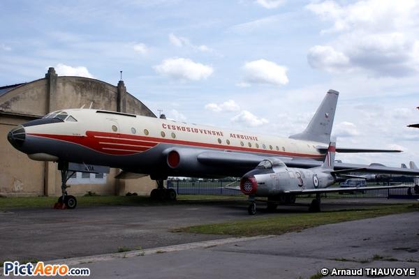 Tupolev Tu-104A (CSA Ceskoslovenske Aerolinie)