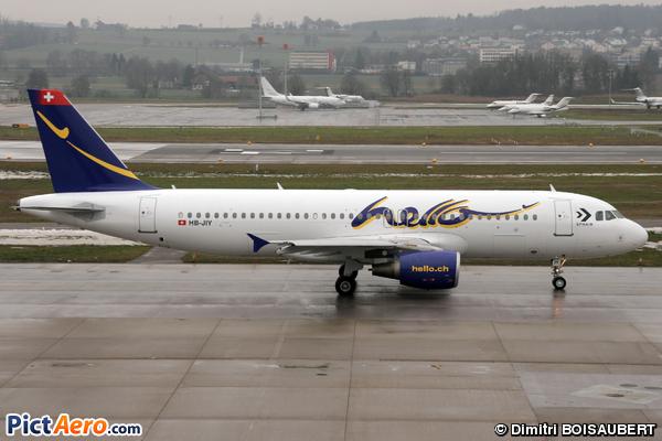 Airbus A320-214 (Hello)