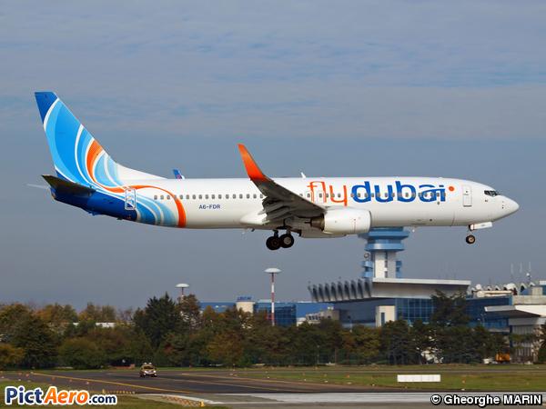 Boeing 737-8KN (FlyDubai)