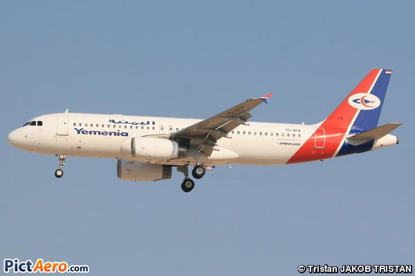 Airbus A320-232 (Yemenia - Yemen Airways)