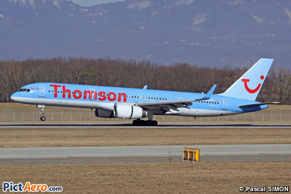 Boeing 757-204/WL (Thomson Airways)