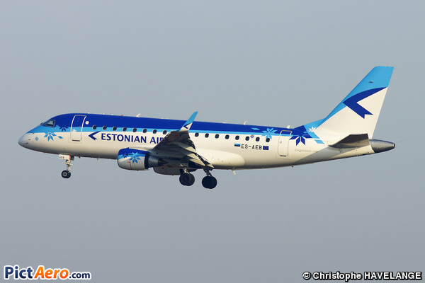 Embraer 170-100SU (Estonian Air)