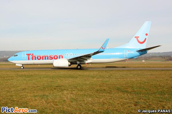 Boeing 737-8K5/WL (Thomson Airways)