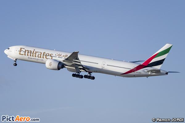 Boeing 777-31H/ER (Emirates)