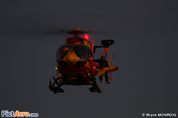 Eurocopter EC-145 B (France - Sécurité Civile)