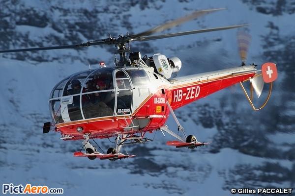 Aérospatiale SA-316B Alouette III (Air Glaciers)