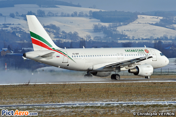 Airbus A319-112 (Tatarstan Airlines)