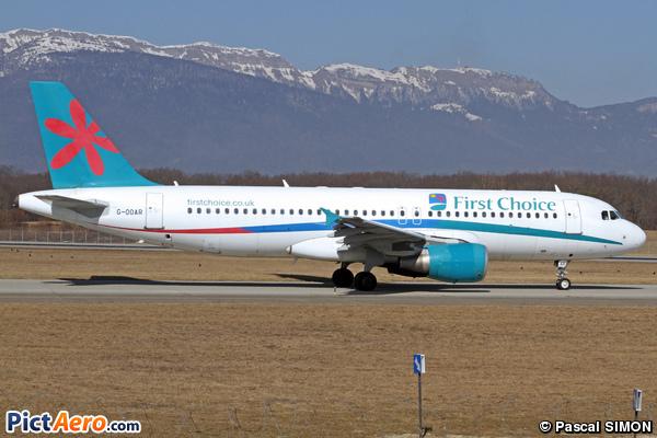 Airbus A320-214 (First Choice Airways)