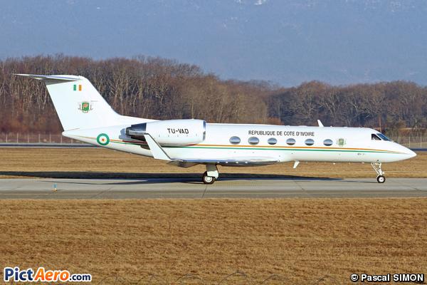 Gulfstream Aerospace G-IV Gulfstream IV (Ivory Coast - Air Force)