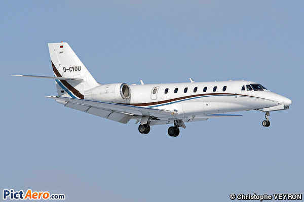 Cessna 680 Citation Sovereign (Comfort Jet Services)