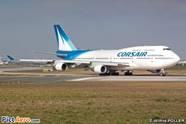 Boeing 747 422 f gtui corsair international par for Plan de cabine boeing 747 400 corsair