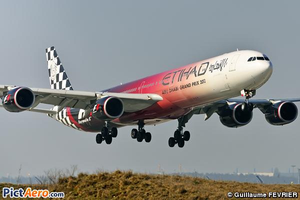 Airbus A340-642X (Etihad Airways)