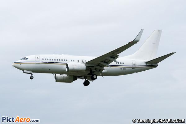 Boeing 737-7Z5/BBJ (Royal Jet)