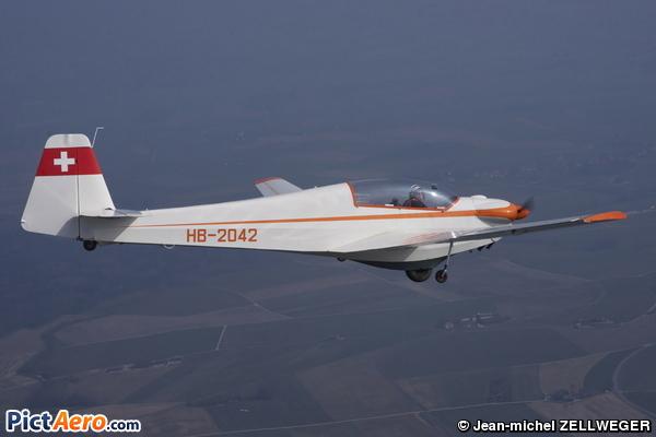 Scheibe SF-28A Falke Tandem (Groupe de vol à voile Vaudois de Montricher)