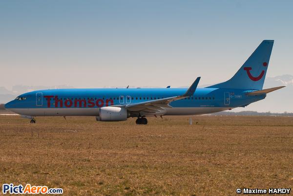 Boeing 737-8K5 (WL) (Thomson Airways)