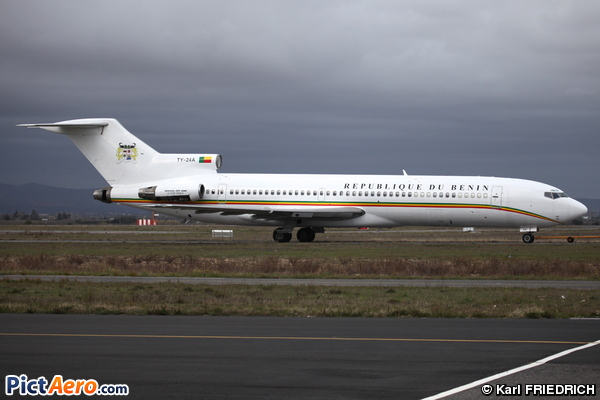Boeing 727-256/Adv (Benin - Government)
