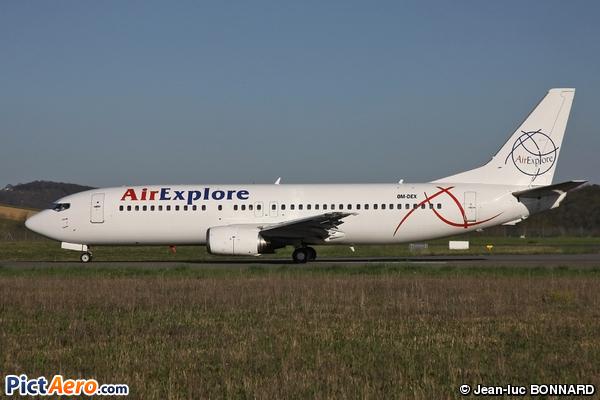 Boeing 737-46J (Air Explore)