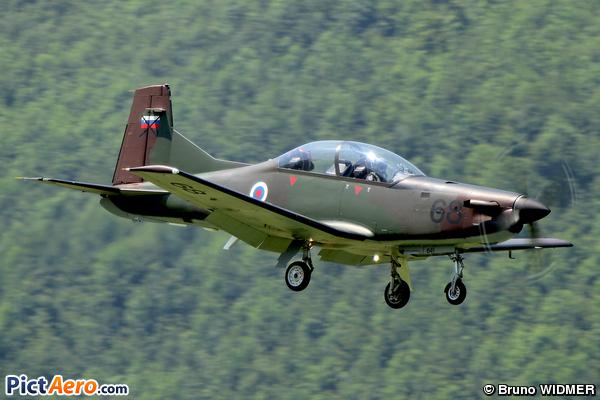 Pilatus PC-9M (Slovenia - Air Force)