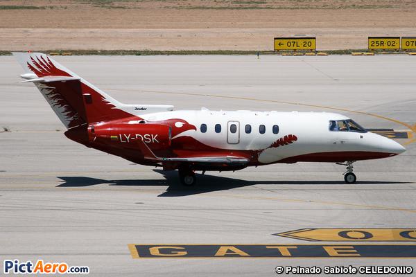 Raytheon Hawker 850XP (Aurela)