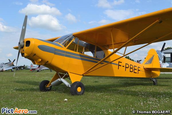 Piper PA-18AS-150 Super Cub (Private)