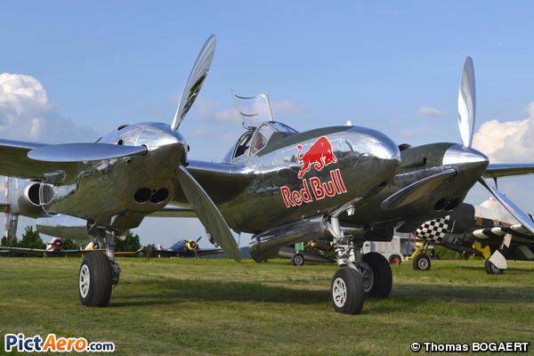 Lockheed P-38L Lightning (Red Bull)