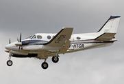 Beech C90GTi King Air  (F-HTCR)