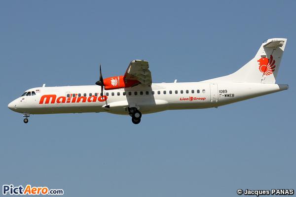 ATR 72-600 (Malindo Air)